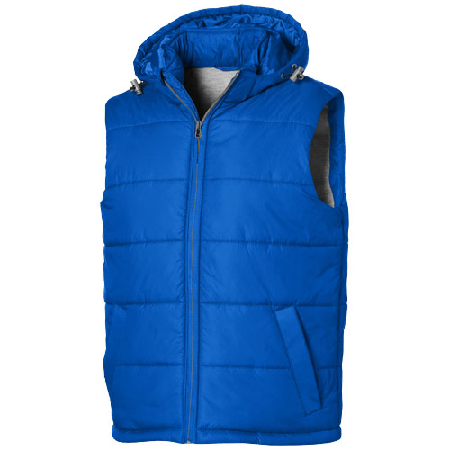 Basic heren bodywarmer blauw