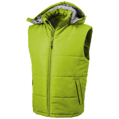 Gravel heren bodywarmer groen