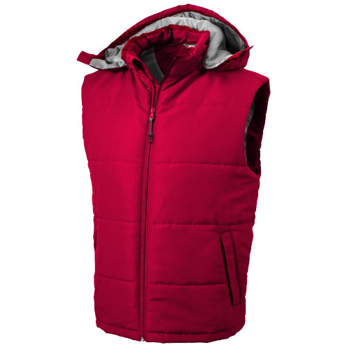 Gravel heren bodywarmer rood