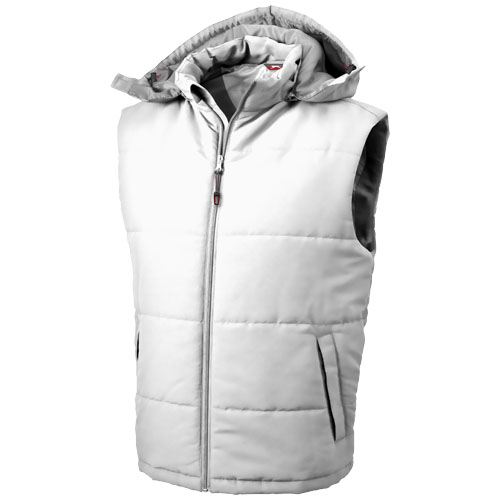 Gravel heren bodywarmer wit