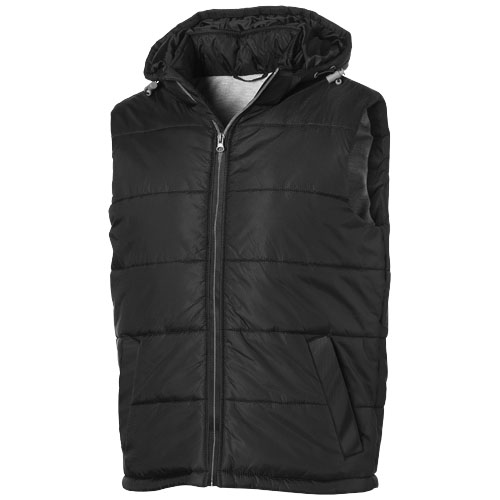Basic heren bodywarmer zwart