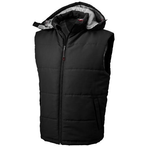 Gravel heren bodywarmer zwart